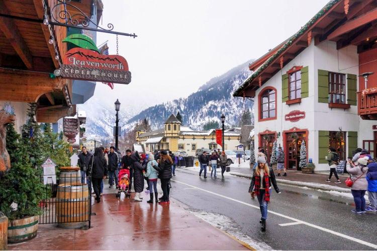 Leavenworth in December