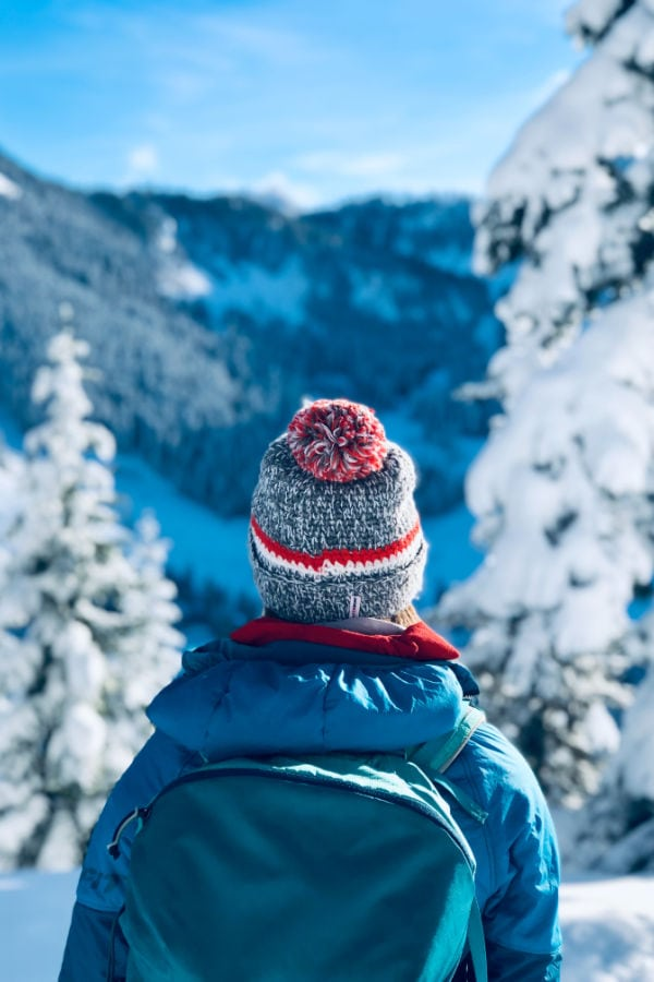 winter wonderland places to visit in the US