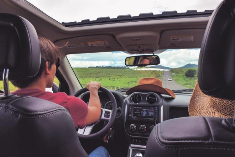 viajar en coche a México desde Estados Unidos