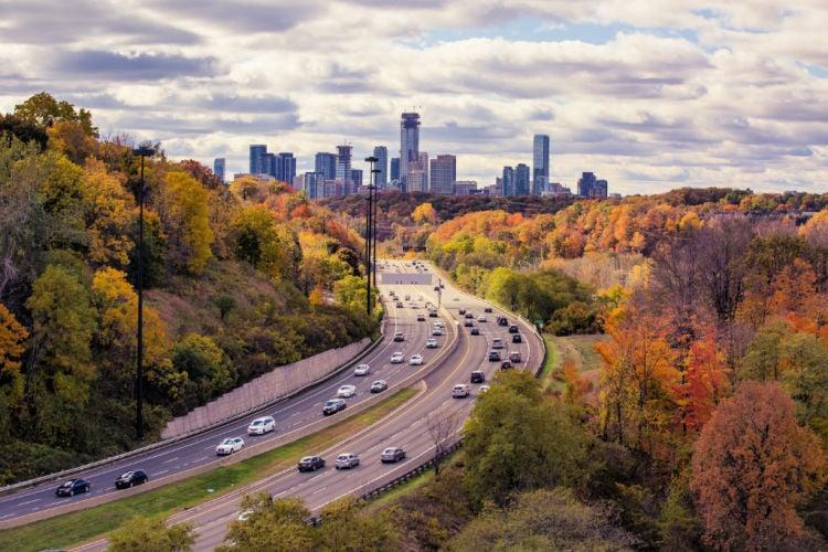 Trip to Canada by Car