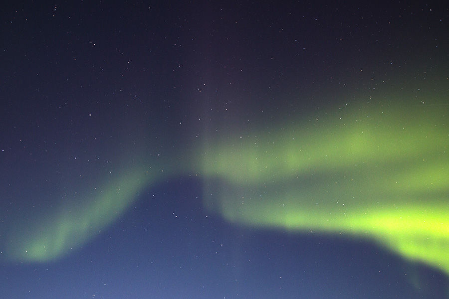 Churchill, Manitoba northern lights