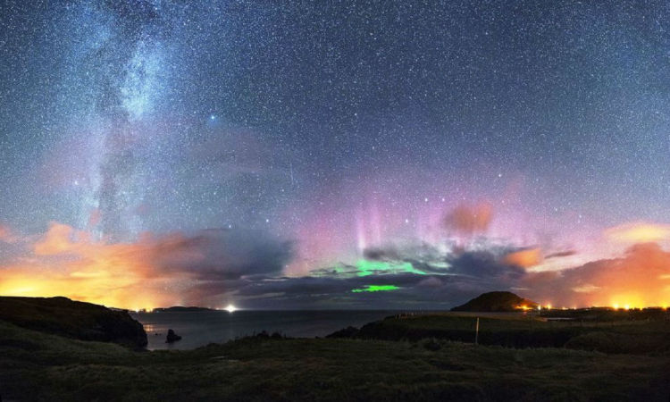 Donegal Ireland northern lights viewing
