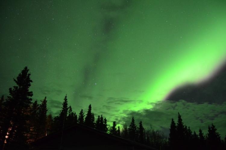 Healy, Alaska aurora viewing