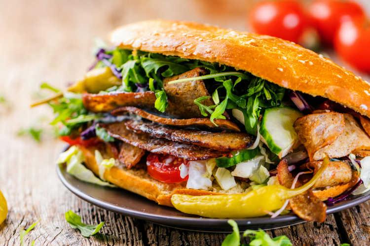 Kebab_national dish of Turkey
