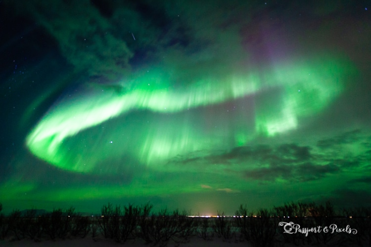 Reykjavik, best place to see northern lights in Iceland