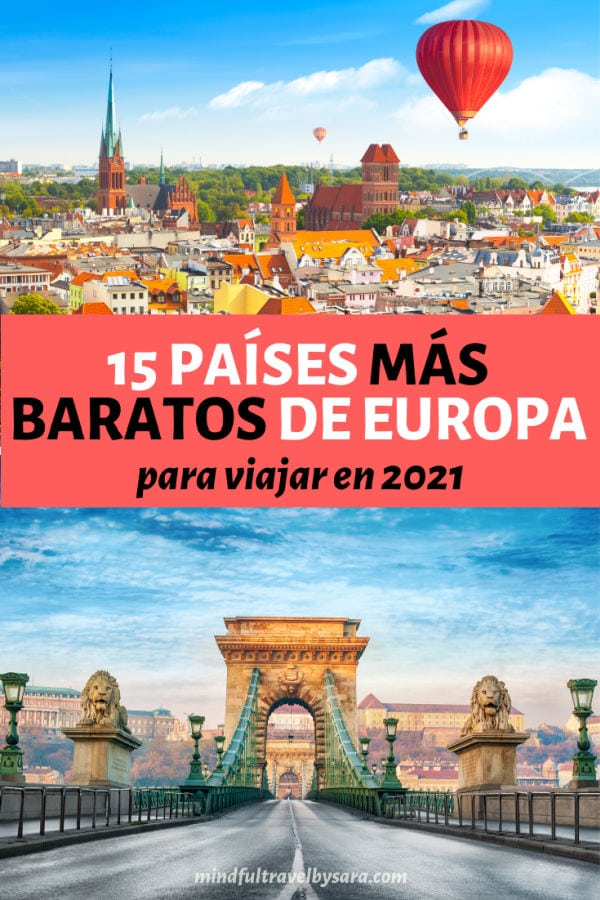 Paises baratos para viajar Europa