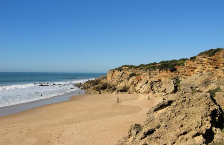 Cala de Roche en Cádiz