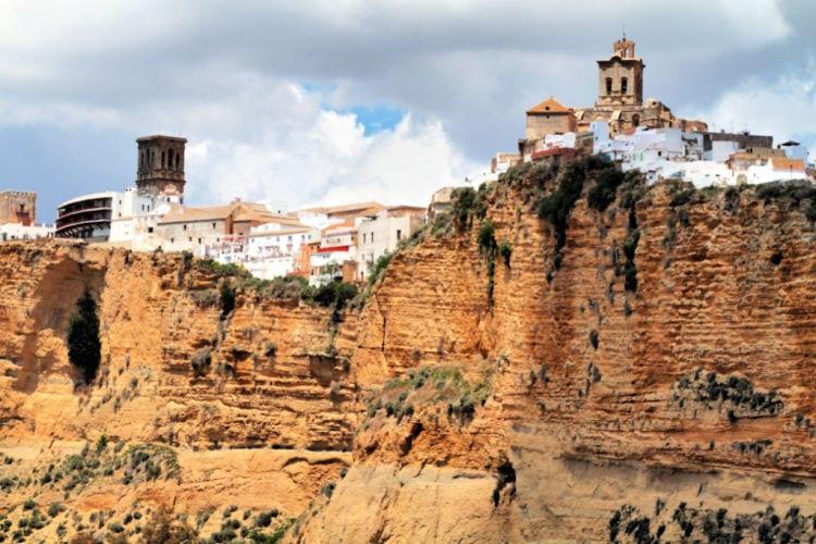 Vistas de Arcos de la Frontera, pueblo blanco de Cádiz