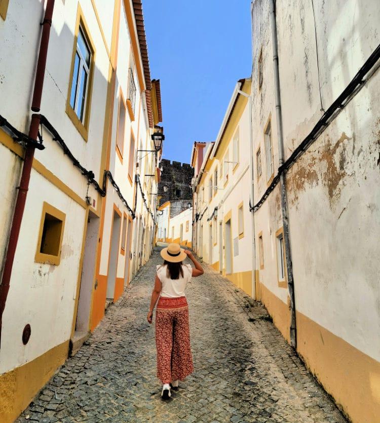 Calles de la ciudad de Portalegre