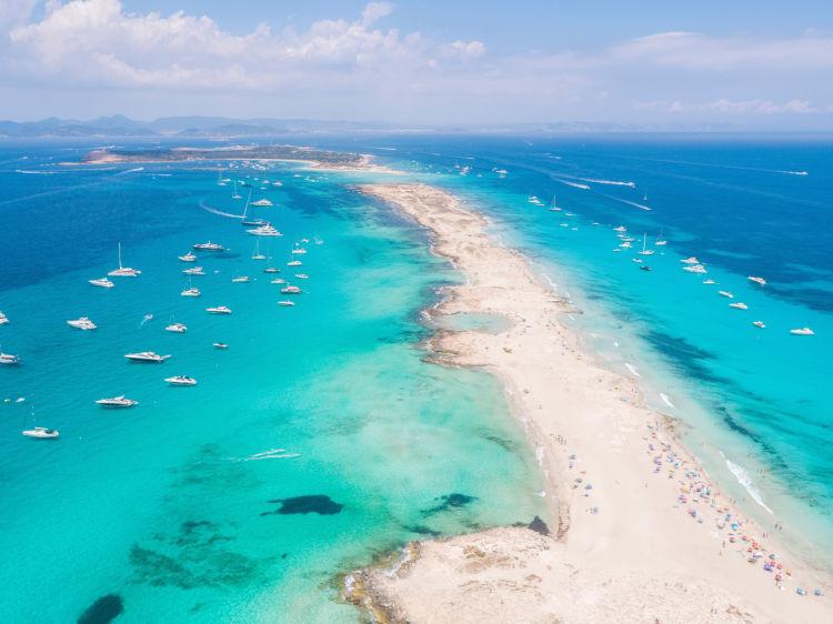 Formentera desde Ibiza