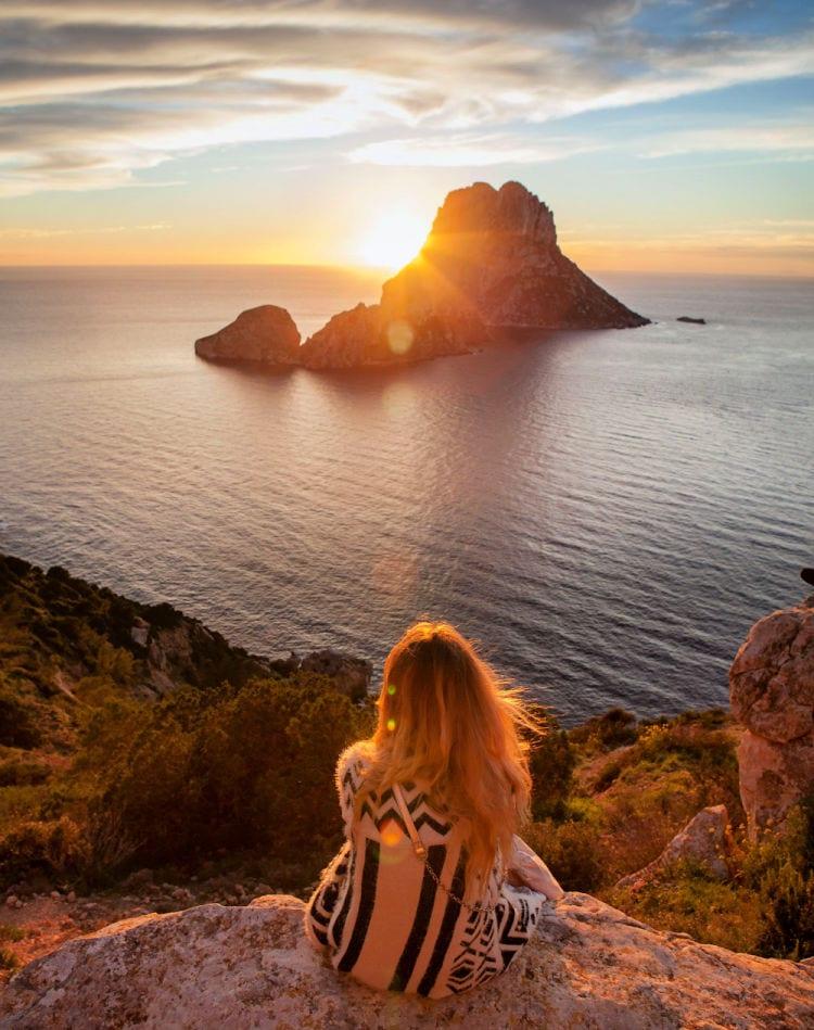 Puestas de sol en Ibiza
