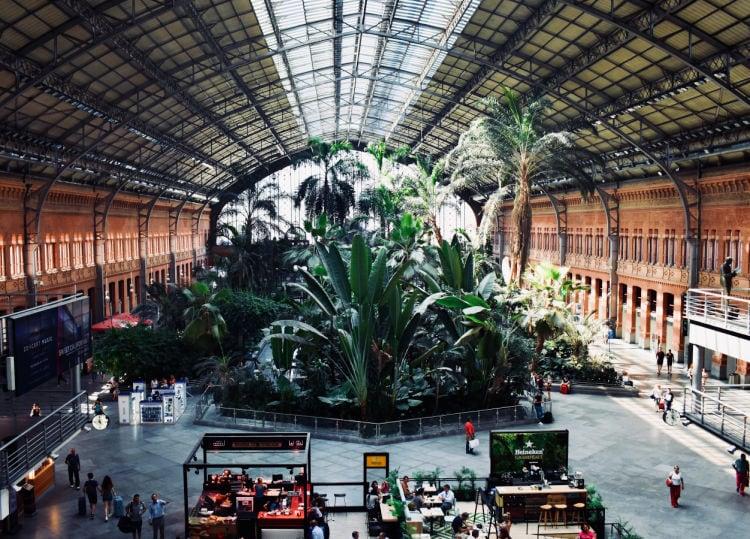 Estación de Atocha Madrid