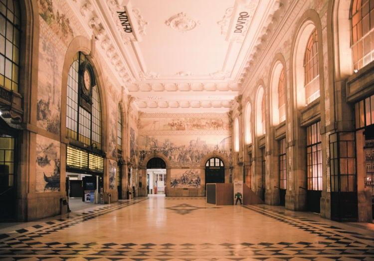 Estación de Porto Sao Bento Oporto
